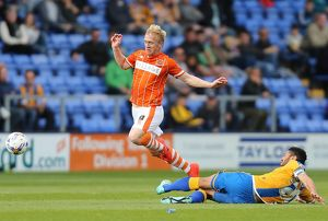 <b>Sky Bet League One - Shrewsbury Town v Blackpool - New Meadow</b><br>Selection of 5 items