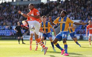 Sky Bet League One - Shrewsbury Town v Blackpool - New Meadow