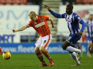 Sky Bet League One - Wigan Athletic v Blackpool - DW Stadium