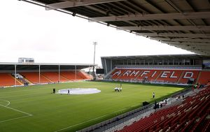 Bloomfield Road, home to Blackpool F.C.