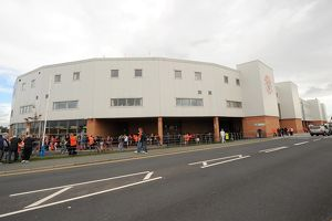 Soccer - Barclays Premier League - Blackpool v Fulham - Bloomfield Road
