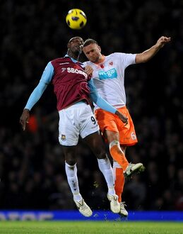 Soccer - Barclays Premier League - West Ham United v Blackpool - Upton Park