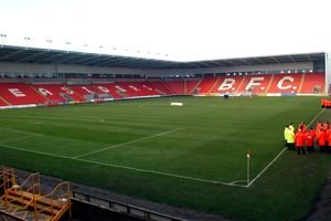 Soccer - Nationwide League Division Two - Blackpool v Cardiff City
