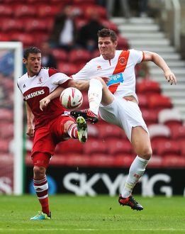 Sky Bet Championship : Middlesbrough v Blackpool : Riverside Stadium : 17-08-2013 (Selection of 17 Items)