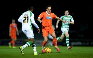 Sky Bet Championship : Yeovil Town v Blackpool : Huish Park : 03-12-2013 (Selection of 7 Items)